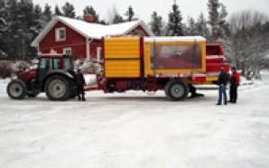 Aabent hus hos Grimme Skandinavien, Finland, dec.2012